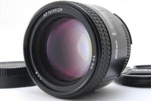 Near MINT Nikon AF Nikkor 85mm f/1.8 Portrait Telephoto Lens w/ Caps From JAPAN