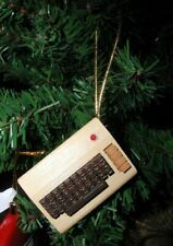 Hand-painted Commodore C-64 (C64) Christmas Tree Ornament