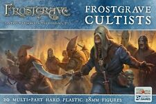 Northstar and Osprey Frostgrave Cultists Multi-part plastic 28mm (20)