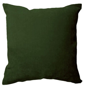 Ma20a Green Soft Velvet Style Cotton Blend Cushion Cover/Pillow Case Custom Size