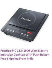 Prestige PIC 12.0 1900 Watt Electric Induction Cook top With Push Button India