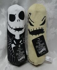 2Pc The Nightmare Before Christmas Jack & Oogie Boogie Dog NEW Pet Toys Squeaker