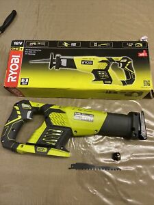 Ryobi RRS1801M One+ 18V Reciprocating Saw - Bare Tool Note - blade clamp damage