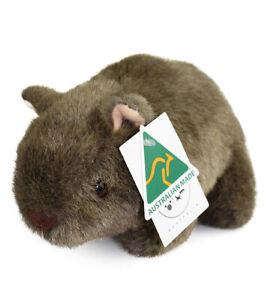Australian Made Wombat Toy 21cm