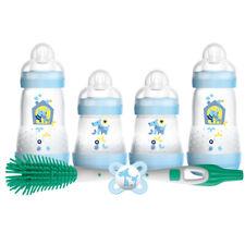MAM Newborn Feeding Set Boy Including Easy Start Self Sterilising Blue