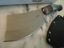 """Survivor Combat Cleaver Hatchet Axe Knife Full Tang Pakkawood 3Cr13 10 1/2"""" New"""