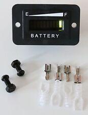 PRO12-48R for 48 Volt EZGO, Yamaha, Club Car Battery Indicator, Meter- Golf Car