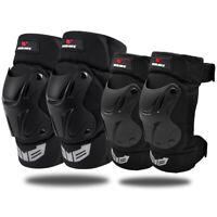 Ginocchiere gomitiere mountain bike MTB Knee Guards Elbow Brace Protezione gambe