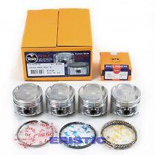 92-95 1.6L HONDA CIVIC DEL SOL VTEC PISTONS RINGS SET D16Z6