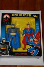 Batman and Superman-New Adventures-Walmart Exclusive-MIB-Batman Animated Series