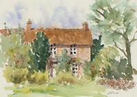 John A. Case - Set of Four Contemporary Watercolours, Cottage Garden Studies