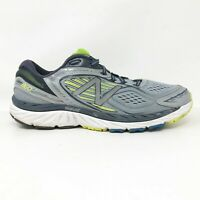 New Balance Mens 860 V7 M860GY7 Gray Yellow Running Shoes Lace Up Size 12.5 2E