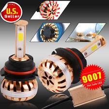 TOUGH 2x 9007 High Power 100W LED Headlight High/Low Beam Bulbs 6000K White