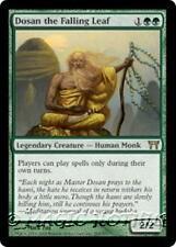 DOSAN THE FALLING LEAF Champions of Kamigawa MTG Green Creature—Human Monk RARE