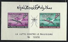 Afganistan 518-519 SS ExterminatingAnaphelesMosquito-AntiMalariaCampaign MNH '61