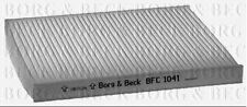 BFC1041 BORG & BECK CABIN AIR FILTER fits Fiat Panda II 03- fits with AirCon