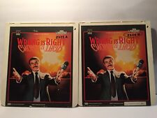 CED Videodisc Movies Wring Is Right