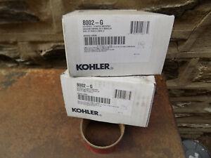 2 KOHLER WaterTile Square 54-Nozzle Body Spray Massager Shower Panels 8002-G