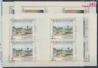 Tschechoslowakei 3069-3072 Kleinbögen postfrisch 1990 Kunst (8721448