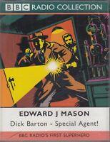 Dick Barton Special Agent Edward J Mason 2 Cassette Audio BBC Radio Drama