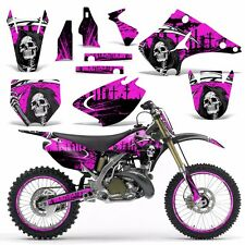Graphics Kit Wrap for Kawasaki KX125 KX250 2003-2016 Dirtbike MX Decal REAP PINK