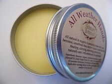 All Weather Hands - All Natural & Organic Hand Salve/ Balm with pure Shea Butter