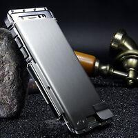 Samsung Galaxy Luxury Rugged Armor Metal Aluminum Hybrid Shockproof Case Cover