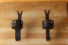 Black Metal Wall Sconce Candle Holder (2 of 2 Available)