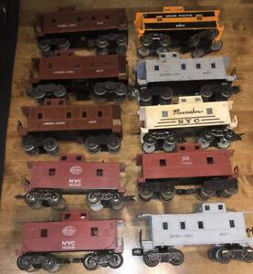 Junkyard Lot of 10  - HO Scale -  caboose cars