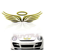 3D Angel Fairy Wings Car Auto Truck Logo Emblem Badge Decal Sticker 3 Colors