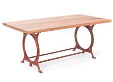 Table cuisine salon salle a manger métal bois O-TONE