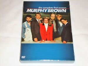 Murphy Brown First Season 1, Boston Legal Season 1-4, DVD, Candice Bergen, New
