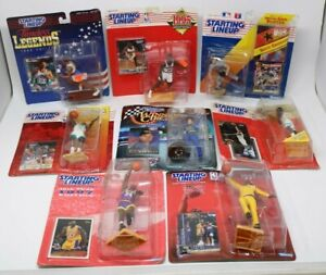 Kenner Starting Lineup Vintage Sports Action Figure Lot of 8 Players SHAQ!