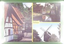 CPA Denmark Arhus Windmühle Windmill Moulin a Vent Molin Folklore Wiatrak w40