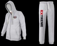 Maxx Full Fleece Tracksuit Hoodie Trouser MMA Gym Boxing Shorts Bottoms Pants EF