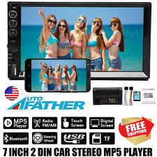 7 inch 2 Din Car Stereo MP4/MP5 Player Mirror Link Bluetooth FM AM Radio USB