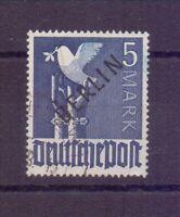 Berlin 1948 - 5 M. Schwarzaufdruck - MiNr. 20 gestempelt - Michel 750,00 € (823)