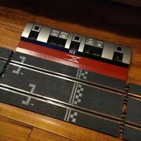 "41pc LOT SCX Digital WOS Straight & Curve & Lane Change Slot Car Track 12"" foot"