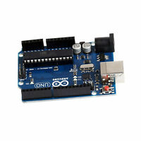 NEW UNO R3 BOARD ATMEGA328P-PU ATMEGA16U2 FOR ARDUINO uno Good and new