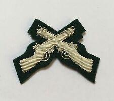The Rifles Marksman Sleeve Badge on Rifles Green, Mess Dress, Skill at Arms
