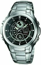 CASIO Analog Watch Silver/Black EFA-116D-1A1JF Standard Men's 497 4971850856887