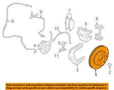 BMW OEM 14-15 428i Front Brake-Disc Rotor 34116792219