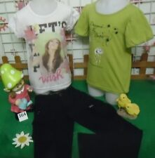 vêtements occasion fille 8 ans,pantalon IKKS,tee-shirt OOXOO,tee-shirt
