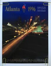 Vintage Olympics Poster Atlanta 1996 Olympic pin-up Summer Games Photograph Pic
