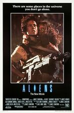 "ALIENS 1986 repro International one sheet poster 41x27"" Sigourney Weaver"