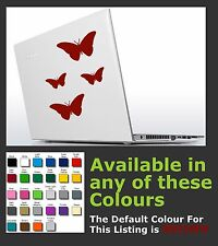 5 x Butterfly Sticker/decals for Car, Laptop, Tables Etc....