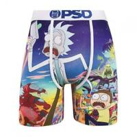 PSD Underwear Rick & Morty Mashup Mens Boxer Brief High Quality No Ride Up Sport