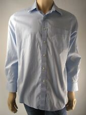 Tommy Bahama Men's Blue Long Sleeve Button Down Shirt Size 16 1/2 34/35
