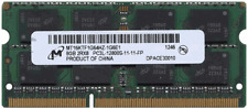 Micron Technology 8GB 1600MHz DDR3 DDR3L PC3-12800 204 PIN SO-DIMM MEMORY 1.35v
