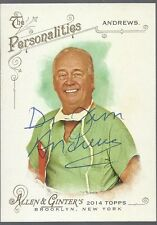DR JAMES ANDREWS Signed Ginter Card Football